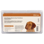 Nobicac Canine 1-DAPPv +L4(25 single doses), 3 or more trays at $96.97 each